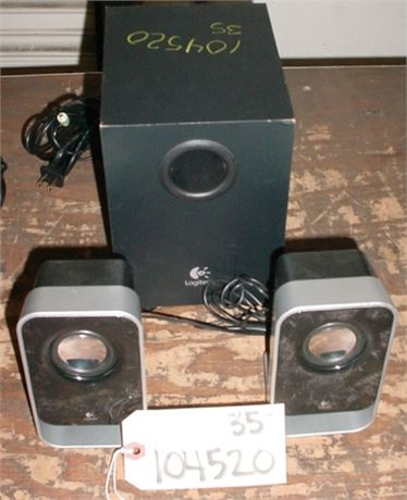 SPEAKER SYSTEM: FOR PC W/ SUBWOOFER